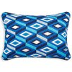 Jonathan Adler Diamonds Wool Lumbar Pillow
