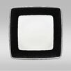 "Noritake Pearl Noir 10.25"" Large Square Plate"
