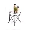 """RTA Home And Office Haven 30"""" Mirrored End Table"""