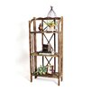 """RTA Home And Office Haven Foldable Rustic Shelf 51"""" Accent shelves Bookcase"""
