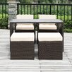 Handy Living Ventura 5 Piece Seating Group with Cushions