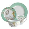 BonJour Fruitful Nectar Porcelain 16 Piece Dinnerware Set