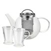 BonJour Harmony 0.8-qt Glass Tea Kettle