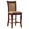 "Steve Silver Furniture Marseille 24"" Bar Stool with Cushion"
