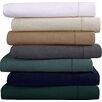 Tribeca Living Flannel Solid Extra Deep Pocket Sheet Set