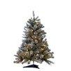 """Kurt Adler Pre-Lit 33"""" Green Artificial Christmas Tree"""