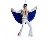 Kurt Adler Elvis in Eagle Suit with Cape Ornament
