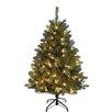 "Kurt Adler Pre-Lit 54"" Green Artificial Christmas Tree with LED"