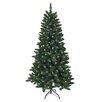 """Kurt Adler Pre-Lit 54"""" Green Artificial Christmas Tree"""