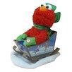 Kurt Adler Sesame Street Singing Animated Elmo with Sled
