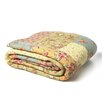 J&J Bedding Patchwork Square Quilt