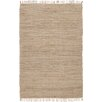 Natural Area Rugs Moscow Hand-Woven Beige Area Rug