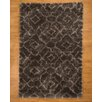Natural Area Rugs Palos Hand-Woven Black Area Rug