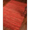 Natural Area Rugs Concepts Hand-Woven Red Area Rug