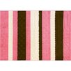 G.A. Gertmenian & Sons Chica Stripe Pink Area Rug