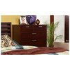 Alpine Furniture Urban 6 Drawer Tall Boy Chest