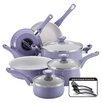 Farberware Farberware New Traditions Speckled Aluminum Nonstick 12 Piece Cookware Set