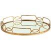 ARTERIORS Home Cinchwaist Gold Iron with Mirror Tray