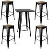 Buffalo Tools AmeriHome Loft 5 Piece Pub Table Set