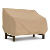 Classic Accessories Terrazzo Collection Bench / Loveseat Cover in Tan, Large