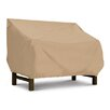 Classic Accessories Terrazzo Collection Bench / Loveseat Cover in Tan, Medium