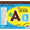 Barker Creek & Lasting Lessons Hot to Dot Pop-outs Letters & Numbers