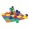 Children's Factory Joey's Matching Mat and Block Set