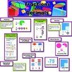 Creative Teaching Press Fractions and Decimals Mini Bulletin Board Cut Out