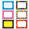 Creative Teaching Press Poppin Patterns Cards Designer Bulletin Board Cut Out