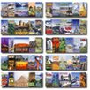 Frank Schaffer Publications/Carson Dellosa Publications World Landmarks and Locales Topper Poster