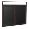 Ghent 2 Door Aluminum Frame Enclosed Letter Board