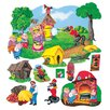 Little Folks Visuals The 3 Pigs Bulletin Board Cut Out