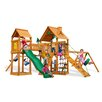 Gorilla Playsets Pioneer Peak with Amber Posts Cedar Swing Set