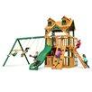 Gorilla Playsets Malibu Clubhouse Swing Set