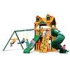 Gorilla Playsets Malibu Extreme Clubhouse Swing Set