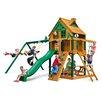 Gorilla Playsets Chateau Treehouse Swing Set