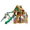 Gorilla Playsets Navigator Treehouse Swing Set