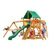 Gorilla Playsets Navigator with Amber Posts and Canopy Cedar Swing Set