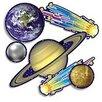 Teachers Friend 36 Piece Punch-outs Solar System Bulletin Board Cut Out