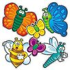 Teachers Friend Accent Punch-outs Bees Bugs Bulletin Board Cut Out (Set of 2)