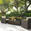 Crosley Palm Harbor 3 Piece Deep Seating Group with Cushions