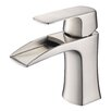 Fresca Fortore Single Handle Single Hole Waterfall Faucet