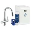 Grohe Single Handle High Spout Water System Sink Faucet