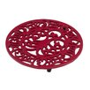 VICTOR Octopus & Fish Trivet in Chilli Red