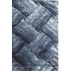 YumanMod Glam Gray/Blue Area Rug