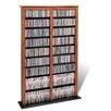 Prepac Double Barrister Multimedia Storage Rack