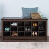 Prepac Sonoma Cubbie Storage Bedroom Bench