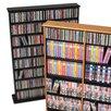 Prepac Double Width Multimedia Storage Rack
