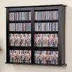 Prepac Floating Wall Mounted Double Multimedia Storage Rack