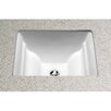 Toto Aimes Undercounter Bathroom Sink with Sanagloss